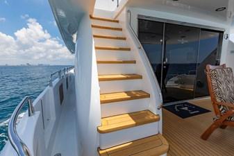 Boat deck steps