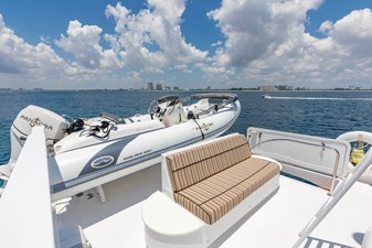 Boat deck seating