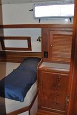 Quarter berth storage