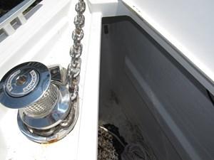 Anchor Windlass and Anchor locker