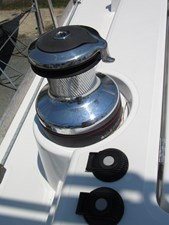 Electric port primary winch