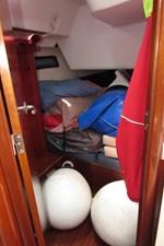 Starboard Aft Cabin - storage cabin