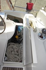 Port Cockpit Storage and Propane locker