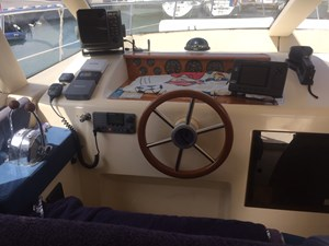 Skyros III 21 Azimut 36 Fly - Motor Yacht - interior - Wheelhouse - IMG_1670