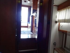 84V berth facing aft