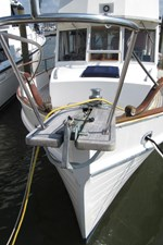 Bowsprit and anchor