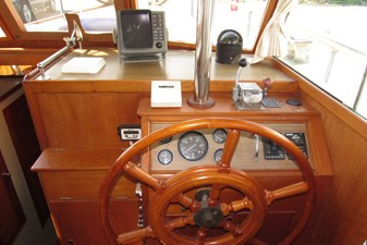 Wheel and dashboard