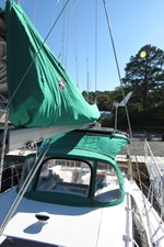 Mainsail cover, dodger, bimini