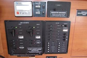 Mojito 27 Electrical panel, regulator etc