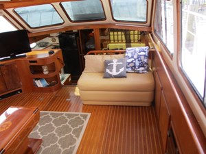27. Starboard Salon View Forward