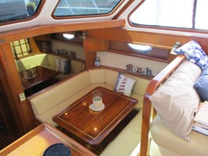 32. Linda Lee Galley Settee to Starboard