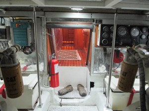 58. Linda Lee Engine Room View To Galley