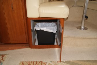 320a Dinette Trash Can Storage