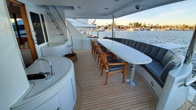 LA LA LAND 64 Crescent Custom Motor Yacht