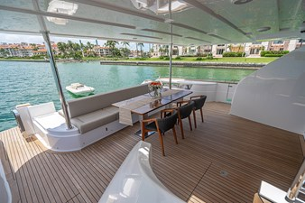 ARES 41 Aft Deck