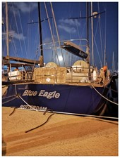 oyal van Dam NORDIA 70 Blue Eagle Aft Deck and Garage
