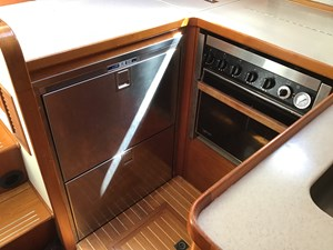 Upgraded refrigeration and Force 10 4 burner range