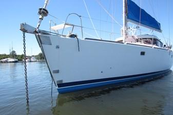Bow, at anchor