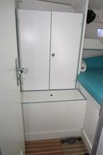 Storage starboard forward cabin