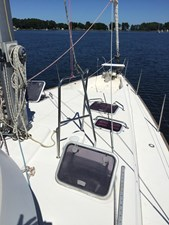 Hatches in foredeck