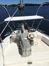 Windlass and bow seat