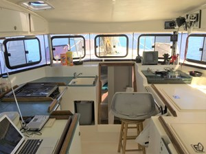 Galley and Nav area w/ windows