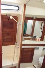 Separate shower area
