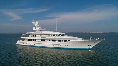 CYNTHIA 1 At anchor
