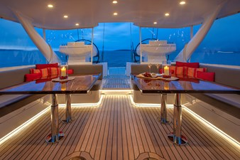 Covered Deck Looking Aft