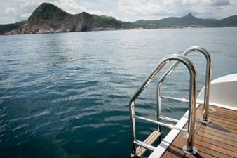 AQUARIUS 27 swimming ladder