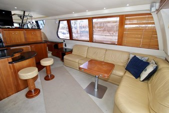 Carver 57 salon looking starboard
