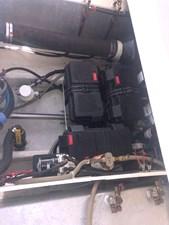 Engine room area aft