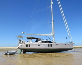 Southerly Yachts Designed to be able to dry out upright