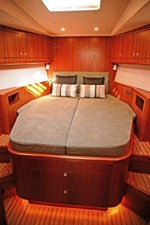 A very comfortable stateroom forward that your guest will really enjoy.