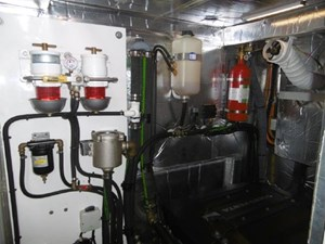 Good access in the engine room