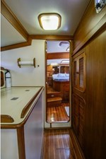 OWNER'S CABIN FROM GALLEY