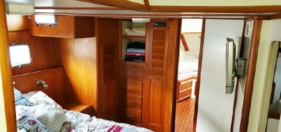 Owner's Stateroom from Stairs