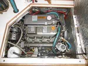Yanmar engine recently replaced