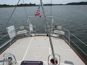 Huge Aft Deck With Abundant Storage