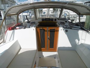 Companionway doors are great when the Air is on