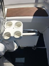 Drink Holder and drop leaf table in cockpit