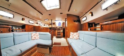 Salon from Companionway