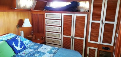 Owners Stateroom Cabin Detail