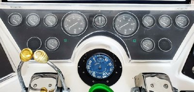 Flybridge with Full Gauges