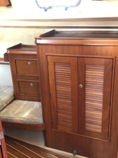 Forward stateroom storage