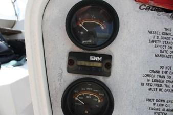 1989 Catalina 42 Geluk 20 Engine hours