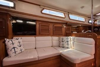 Starboard settee
