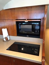 Galley Stove and Microwave