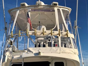 Flybridge Aft Rail