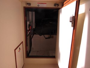 Second Wind 31 Engine Access Under Companionway